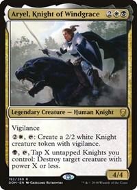 Aryel, Knight of Windgrace, Magic: The Gathering, Dominaria