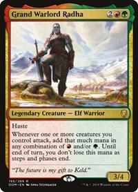 Grand Warlord Radha, Magic: The Gathering, Dominaria