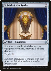 Shield of the Realm, Magic: The Gathering, Dominaria