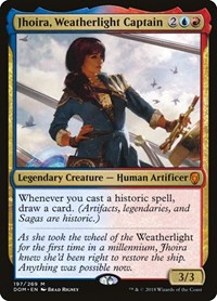 Jhoira, Weatherlight Captain, Magic, Dominaria
