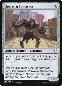 Sparring Construct, Magic: The Gathering, Dominaria