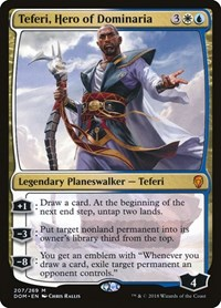 Teferi, Hero of Dominaria, Magic: The Gathering, Dominaria