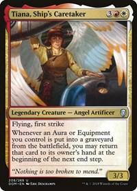Tiana, Ship's Caretaker, Magic: The Gathering, Dominaria
