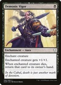 Demonic Vigor, Magic: The Gathering, Dominaria