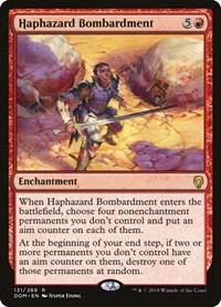 Haphazard Bombardment, Magic: The Gathering, Dominaria