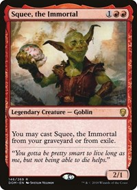 Squee, the Immortal, Magic: The Gathering, Dominaria