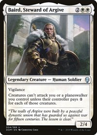 Baird, Steward of Argive, Magic: The Gathering, Dominaria