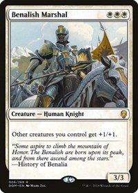 Benalish Marshal, Magic: The Gathering, Dominaria