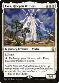 Evra, Halcyon Witness, Magic: The Gathering, Dominaria