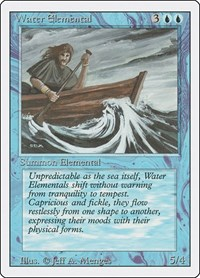 Water Elemental, Magic, Revised Edition