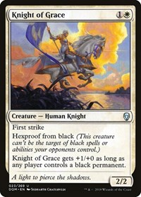 Knight of Grace, Magic: The Gathering, Dominaria