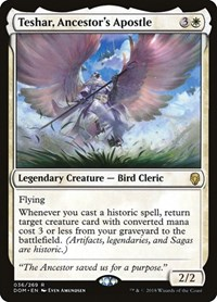 Teshar, Ancestor's Apostle, Magic: The Gathering, Dominaria