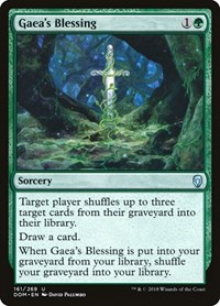 Gaea's Blessing, Magic: The Gathering, Dominaria