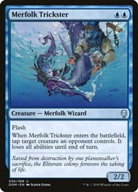 Merfolk Trickster, Magic, Dominaria
