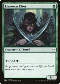 Llanowar Elves, Magic, Dominaria