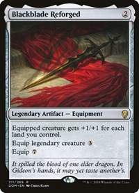 Blackblade Reforged, Magic: The Gathering, Dominaria