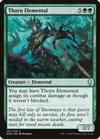 Thorn Elemental, Magic: The Gathering, Dominaria