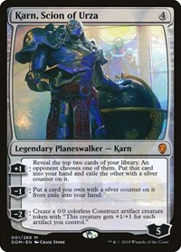 Karn, Scion of Urza, Magic: The Gathering, Dominaria