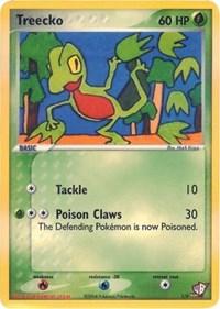 Treecko, Pokemon, Kids WB Promos