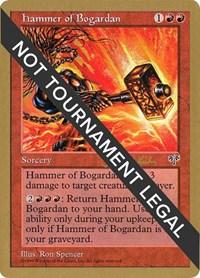 Hammer of Bogardan - 1997 Janosch Kuhn (MIR), Magic: The Gathering, World Championship Decks