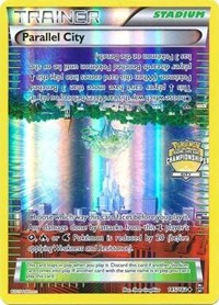 Parallel City - 145/162 (Championship Promo), Pokemon, League & Championship Cards