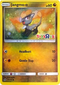 Jangmo-o (Toys R Us Promo), Pokemon, Miscellaneous Cards & Products