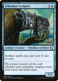 Etherium Sculptor, Magic: The Gathering, Duel Decks: Elves vs. Inventors