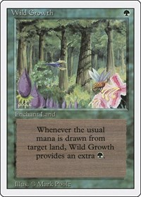 Wild Growth, Magic: The Gathering, Revised Edition