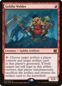 Goblin Welder, Magic: The Gathering, Duel Decks: Elves vs. Inventors