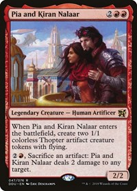 Pia and Kiran Nalaar, Magic, Duel Decks: Elves vs. Inventors