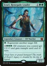 Ezuri, Renegade Leader, Magic: The Gathering, Duel Decks: Elves vs. Inventors