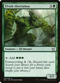Elvish Aberration, Magic: The Gathering, Duel Decks: Elves vs. Inventors