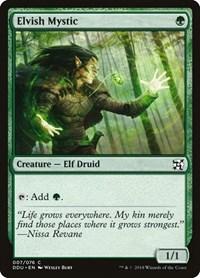 Elvish Mystic, Magic: The Gathering, Duel Decks: Elves vs. Inventors
