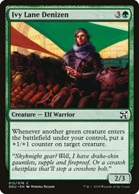 Ivy Lane Denizen, Magic: The Gathering, Duel Decks: Elves vs. Inventors
