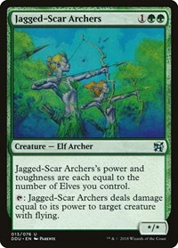 Jagged-Scar Archers, Magic: The Gathering, Duel Decks: Elves vs. Inventors