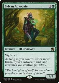 Sylvan Advocate, Magic, Duel Decks: Elves vs. Inventors