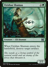 Viridian Shaman, Magic: The Gathering, Duel Decks: Elves vs. Inventors