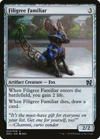 Filigree Familiar, Magic: The Gathering, Duel Decks: Elves vs. Inventors