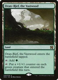 Oran-Rief, the Vastwood, Magic: The Gathering, Duel Decks: Elves vs. Inventors
