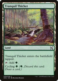 Tranquil Thicket, Magic: The Gathering, Duel Decks: Elves vs. Inventors