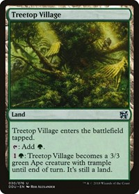 Treetop Village, Magic, Duel Decks: Elves vs. Inventors