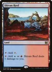 Shivan Reef, Magic: The Gathering, Duel Decks: Elves vs. Inventors