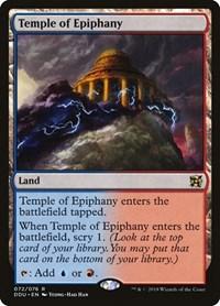 Temple of Epiphany, Magic, Duel Decks: Elves vs. Inventors