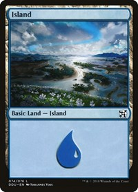 Island (74), Magic: The Gathering, Duel Decks: Elves vs. Inventors