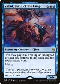 Zahid, Djinn of the Lamp, Magic, Dominaria