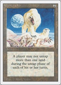 Winter Orb, Magic: The Gathering, Revised Edition
