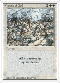 Wrath of God, Magic: The Gathering, Revised Edition