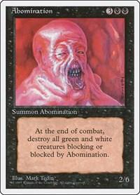 Abomination, Magic, Fourth Edition