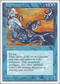 Air Elemental, Magic, Fourth Edition