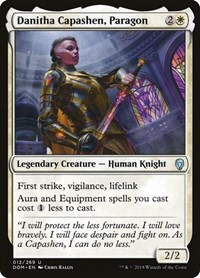 Danitha Capashen, Paragon, Magic: The Gathering, Dominaria
